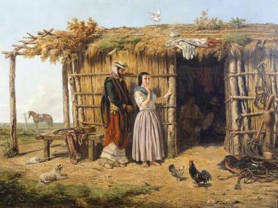 Pampa Dwelling, 1861, Argentina