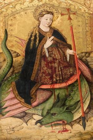 Saint Margaret, Ca 1455