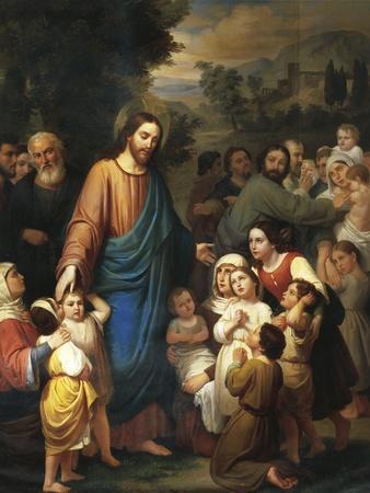 Suffer Little Children to Come Unto Me, 1854