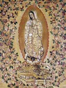 Virgen de Guadalupe, 1697 by Juan y Miguel González
