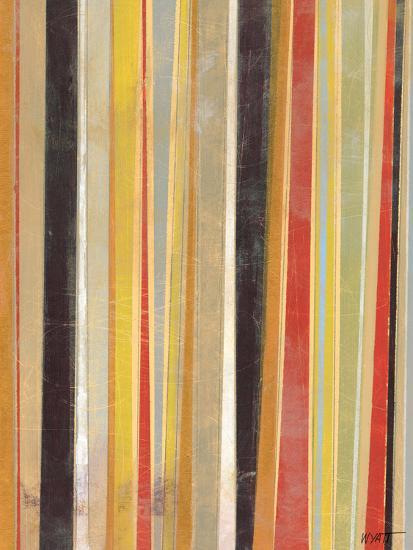 Jubilant Stripes II-Norman Wyatt Jr^-Art Print