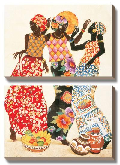 Jubilation-Keith Mallett-Canvas Art Set