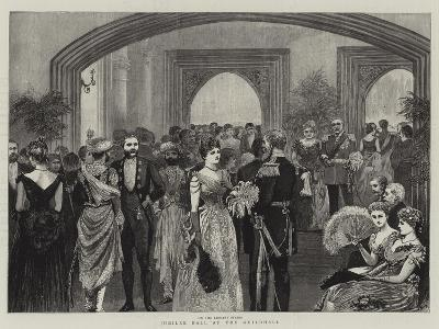 Jubilee Ball at the Guildhall--Giclee Print