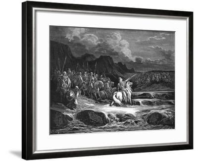Judas Maccabaeus Leading Jewish Army into Battle--Framed Giclee Print