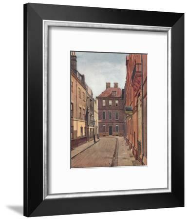 'Judge Jeffrey's House, Delahay Street, Westminster', London, c1880 (1926)-John Crowther-Framed Giclee Print