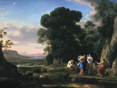 Judgement of Paris (1645-164)-Claude Lorraine-Giclee Print