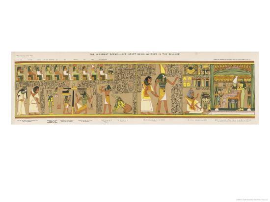 ️ Judgement before osiris. Hunefer. 2019-02-13  Judgement Before Osiris