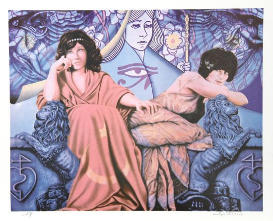 Judgement of the Moon & Stars-Robert Anderson-Collectable Print