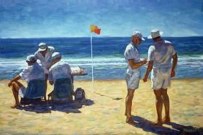 Judges at the Lifesaving Carnival, 1993-Ted Blackall-Giclee Print
