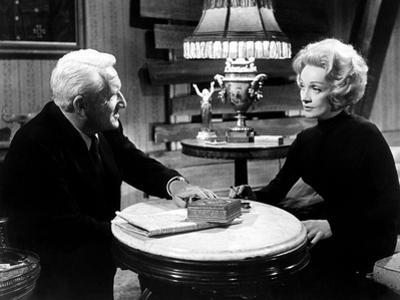 Judgment At Nuremberg, Spencer Tracy, Marlene Dietrich, 1961