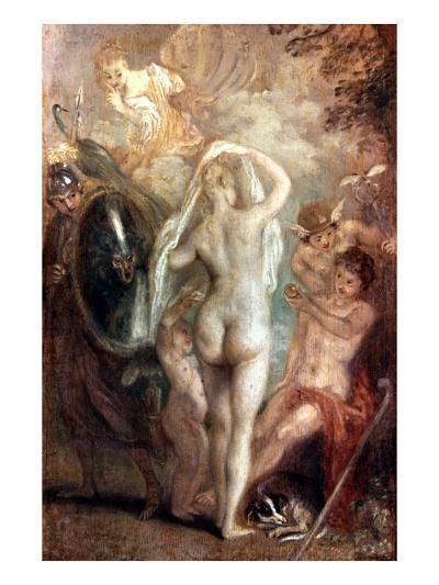 Judgment Of Paris-Jean Antoine Watteau-Giclee Print