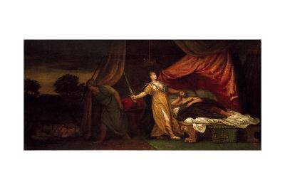 Judith About to Kill Holofernes-Veronese-Giclee Print