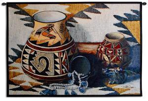Kokopelli Pot by Judith Durr