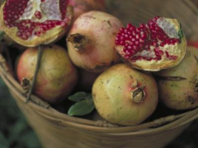 Basket of Pomegranate, Oaxaca, Mexico