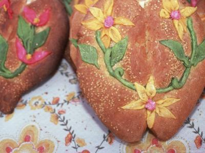 Day of the Dead Bread, Abastos Market, Oaxaca, Mexico