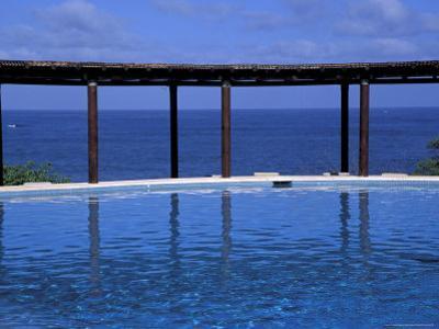 Four Seasons Punta Mita Resort, Beach Vista from Pool, Puerto Vallarta, Mexico