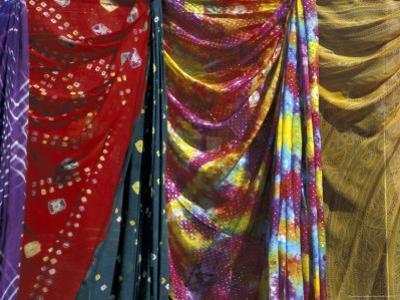 Textiles in Bikaner, India