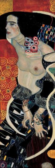 Judith II-Gustav Klimt-Art Print