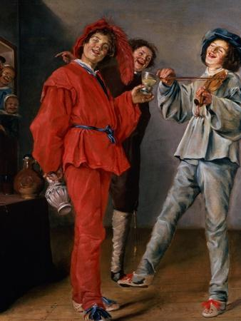 Three Boys Merry-Making, C.1629