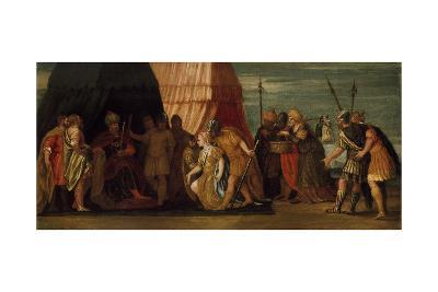 Judith Received by Holofernes-Veronese-Giclee Print