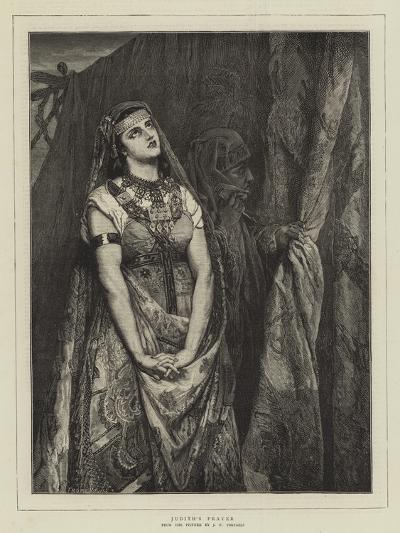 Judith's Prayer-Jean Francois Portaels-Giclee Print
