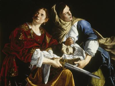 Judith with the Head of Holofernes-Artemisia Gentileschi-Giclee Print