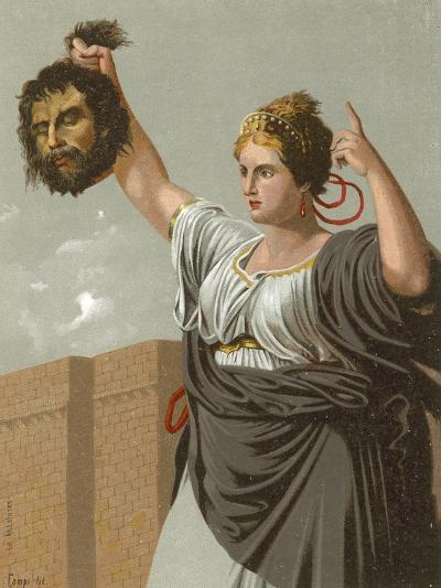 Judith with the Head of Holofernes--Giclee Print