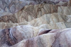 California, Death Valley National Park. Zabriskie Point Sunrise by Judith Zimmerman