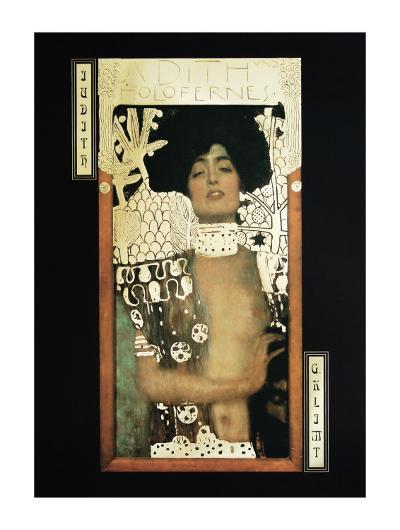 Judith-Gustav Klimt-Art Print