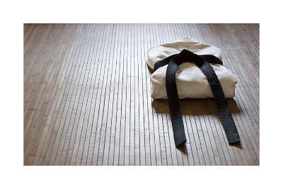 Judo Gi With Copy Space-grapix-Art Print