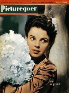 Judy Garland (1922-196), American Actress and Singer, 1943