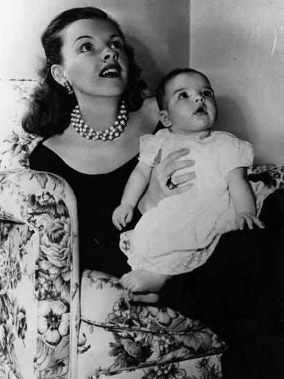 Judy Garland with Liza Minnelli Photographic Print by | Art com