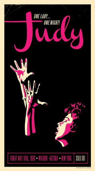 Judy Garland-Kii Arens-Art Print
