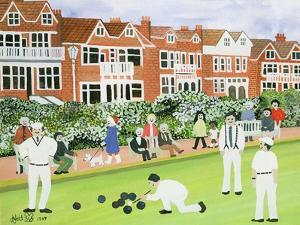Bowling at Eastbourne by Judy Joel