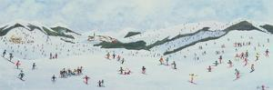 On the Slopes, 1995 by Judy Joel