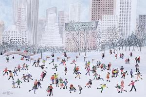 Skating Rink, Central Park, New York, 1994 by Judy Joel
