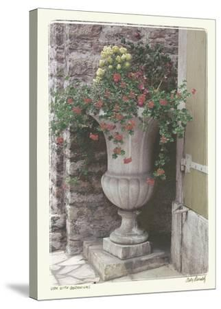 Urn With Geraniums