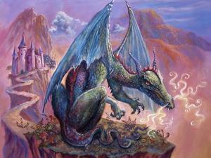 Green Dragon - Enhanced by Judy Mastrangelo