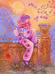Rose Pierrot Fairy by Judy Mastrangelo