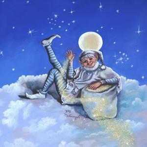 Sandman on Cloud by Judy Mastrangelo