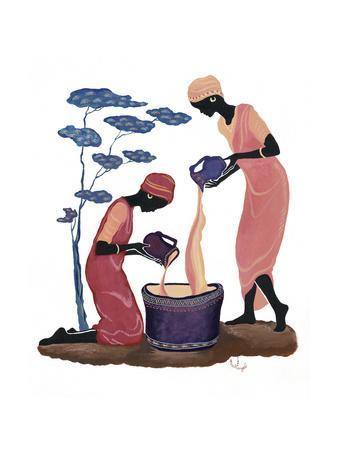 Two Women Pouring