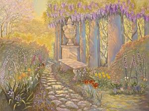 Wisteria Arbor by Judy Mastrangelo