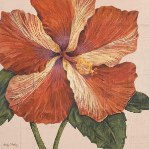 Island Hibiscus I by Judy Shelby