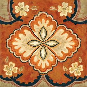 Kashmir Motif B by Judy Shelby