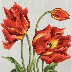 Tulips on Silk by Judy Shelby