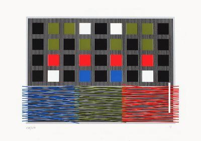 Juegos olímpicos-Rafael Jesus Soto-Limited Edition