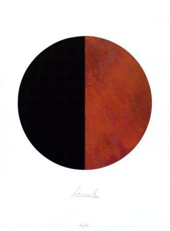 Kreis Rost Schwarz