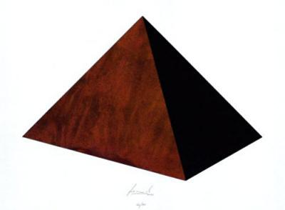 Pyramide Rost Schwarz