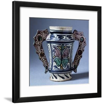 Jug, Ceramic, Florence Manufacture, Italy--Framed Giclee Print