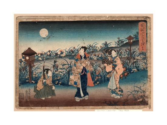 Jugo-Utagawa Toyokuni-Giclee Print